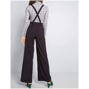 MODCLOTH • Hold in Suspends Wide-Leg Pants